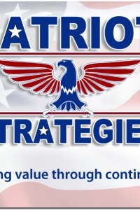 Patriot Strategies Business Card Design